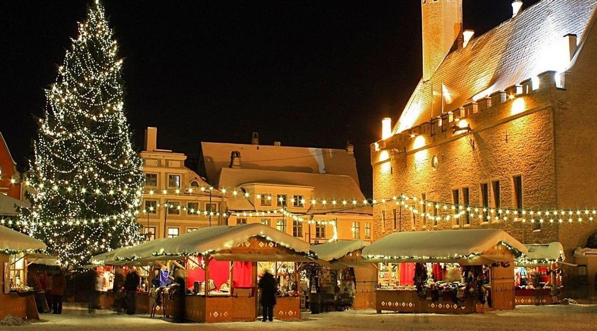 Новогодний праздники в эстонии