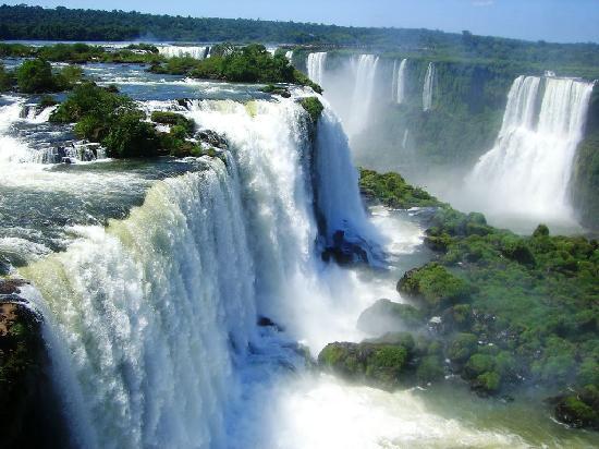 Де жанейро водопады игуасу бузиос
